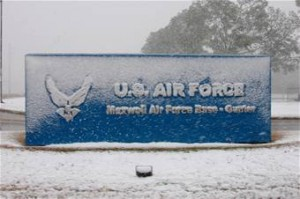 Photo of Maxwell AFB sign