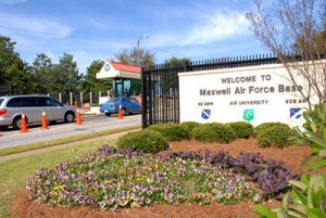 Photo of entrance to Maxwell AFB