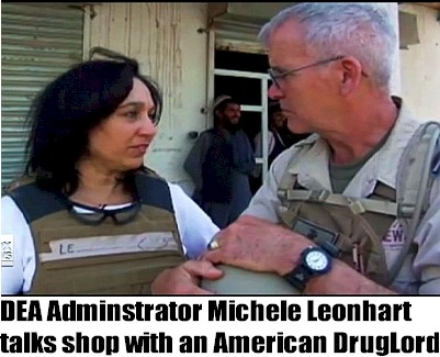 DEA administrator talks shop with American DrugLord