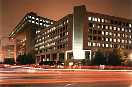 fbi-building-at-night