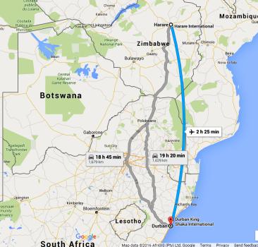FireShot Screen Capture #1'Harare, Zimbabwe to Durban, South Africa
