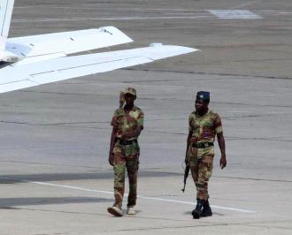Zimbabwe US Jet Seized